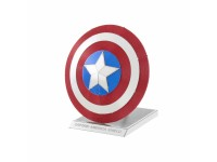 METAL EARTH AVENGERS SCUDO DI CAPTAIN AMERICA PRECOLORATO KIT IN METALLO 3D