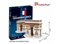 CUBICFUN MODELLINO ARCO DI TRIONFO PARIGI IN PUZZLE 3D