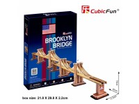 CUBICFUN MODELLINO PONTE DI BROOKLYN NEW YORK IN PUZZLE 3D