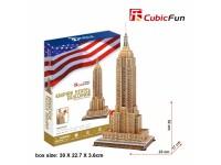 CUBICFUN MODELLINO EMPIRE STATE BUILDING IN PUZZLE 3D