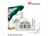 CUBICFUN MODELLINO TAJ MAHAL INDIA IN PUZZLE 3D