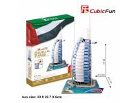 CUBICFUN MODELLINO BURJ AL ARAB DUBAI IN PUZZLE 3D