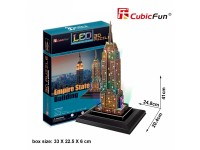 CUBICFUN MODELLINO CON LED EMPIRE STATE BUILDING IN PUZZLE 3D