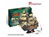 CUBICFUN MODELLINO THE SPANISH ARMADA SAN FELIPE VELIERO IN PUZZLE 3D