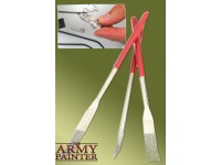 ARMY PAINTER Set di tre lime in acciaio inossidabile FILES SPECIALITY CURVED