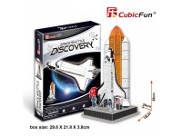 CUBICFUN MODELLINO SPACE SHUTTLE DISCOVERY NASA IN PUZZLE 3D