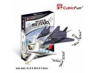 CUBICFUN MODELLINO F-117 NIGHTHAWK & F/A-18 HORNET IN PUZZLE 3D