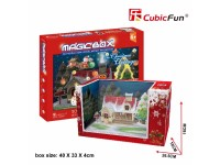 CUBICFUN MODELLINO MAGIC BOX NATALE IN PUZZLE 3D