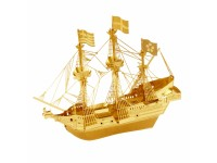 METAL EARTH KIT MODELLINO GOLDEN HIND GALEONE SIR F. DRAKE DORATO