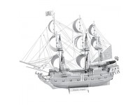 METAL EARTH KIT MODELLINO PERLA NERA NAVE PIRATI CARAIBI IN METALLO