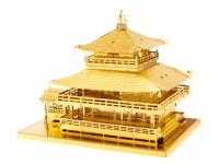METAL EARTH KIT MODELLINO CASTELLO GIAPPONESE DORATO KINKAKU JI IN METALLO