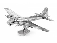 METAL EARTH KIT MODELLINO B-17 FLYING FORTRESS IN METALLO