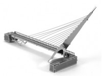 METAL EARTH KIT MODELLINO PONTE SUNDIAL BRIDGE TURTLE BAY CALIFORNIA USA IN METALLO