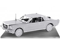METAL EARTH KIT MODELLINO FORD MUSTANG COUPE' 1965 IN METALLO