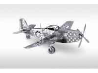 METAL EARTH KIT MODELLINO MUSTANG P-51 IN METALLO