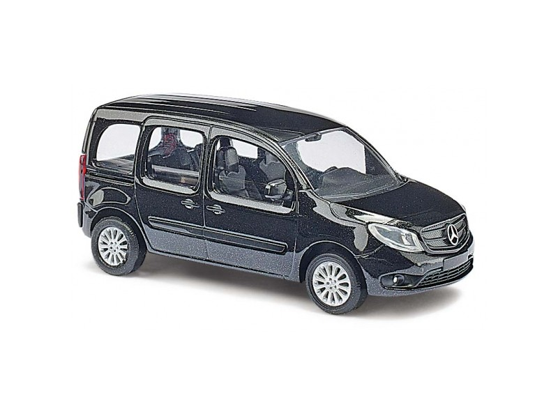 busch modellino auto mercedes citan kombi nero scala 1 87. Black Bedroom Furniture Sets. Home Design Ideas