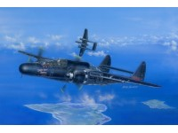 HOBBY BOSS SCATOLA MONTAGGIO MODELLINO AEREO US P-61B BLACK WIDOW 1/48