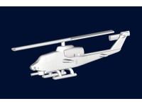 MODELLISMO TRUMPETER KIT MODELLINO AEREO AH-1W COBRA 1/700