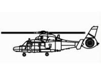 MODELLISMO TRUMPETER KIT MODELLINO AEREO Z-9C 1/350