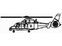 MODELLISMO TRUMPETER KIT MODELLINO ELICOTTERO WZ-9C SCALA 1/350