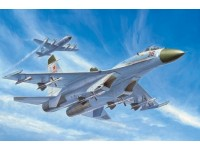 MODELLISMO TRUMPETER KIT MODELLINO AEREO RUSSIAN SU-27 EARLY TYPE FIGHTER 1/72