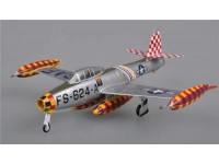 EASY MODEL MODELLINO MONTATO AEREO F-84E COL. LAVEN. GERMANY 1951 1/72