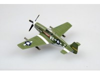 EASY MODEL MODELLINO MONTATO AEREO P-51B 1ST LIEUTENANT HERRY BROWN 1/72