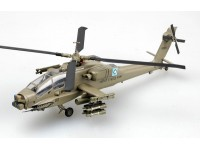 EASY MODEL MODELLINO MONTATO ELICOTTERO HELICOPTER AH-64A DEVIL'S DANCE AFGHANISTAN 2002 1/72