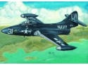 MODELLISMO TRUMPETER KIT MODELLINO AEREO US NAVY F9F-2P PANTHER 1/48