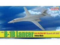 DRAGON MODELLINO ASSEMBLATO AEREO B-1B 34TH BS/28TH BW ELLSWORTH AFB 2005 1/400 IN METALLO