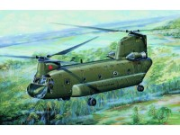 MODELLISMO TRUMPETER KIT MODELLINO ELICOTTERO CH-47 D CHINOOK MEDIUM-LIFT HELICOPTER 1/72