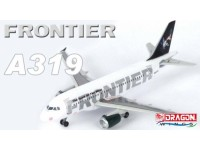 DRAGON MODELLINO ASSEMBLATO AEREO FRONTIER A319 1/400