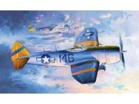 MODELLISMO TRUMPETER MODELLINO DA MONTARE AEREO P-47 N THUNDERBOLT 1/32