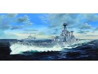 MODELLISMO TRUMPETER MODELLINO DA MONTARE HMS HOOD 1/200