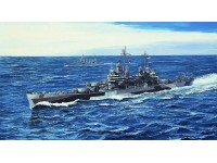 MODELLISMO TRUMPETER KIT MODELLINO NAVE USS PITTSBURGH CA-72 1944 1/700