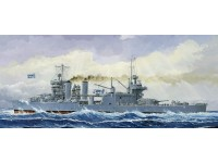 MODELLISMO TRUMPETER KIT MODELLINO NAVE USS MINNEAPOLIS CA-36 1942 1/700
