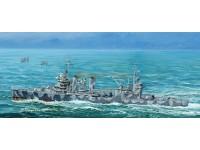 MODELLISMO TRUMPETER KIT MODELLINO NAVE USS TUSCOLOSA CA-37 1/700