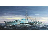 MODELLISMO TRUMPETER KIT MODELLINO NAVE TRIBAL-CLASS DESTROYER HMCS HURON G24 1944 1/700