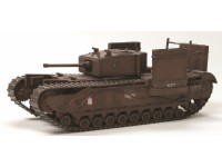 DRAGON MODELLINO MONTATO CARRO ARMATO CHURCHILL MK.III FITTED FOR WADING 14TH CANADIAN ARMOURED REGIMENT DIEPPE 1942 1/72
