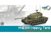 DRAGON MODELLINO MONTATO CARRO ARMATO M103A1 HEAVY TANK GERMANY 1959 1/72