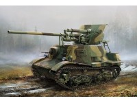 HOBBY BOSS KIT MONTAGGIO MODELLINO CARRO ARMATO SOVIET ZIS-30 LIGHT SELF-PROPELLED ANTI-TANK GUN