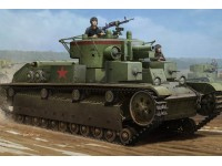 HOBBY BOSS KIT MONTAGGIO MODELLINO CARRO ARMATO SOVIET T-28 MEDIUM TANK WELDED 1/35
