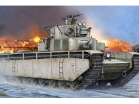 HOBBY BOSS KIT MONTAGGIO MODELLINO CARRO ARMATO SOVIET T-35 HEAVY TANK BEFORE 1938 1/35