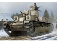 HOBBY BOSS MODELLINO DA ASSEMBLARE CARRO ARMATO SOVIET T-28 MEDIUM TANK RIVETED 1/35
