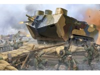 HOBBY BOSS MODELLINO DA ASSEMBLARE CARRO ARMATO FRENCH SAINT-CHAMOND HEAVY TANK EARLY 1/35