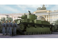 HOBBY BOSS MODELLINO DA ASSEMBLARE CARRO ARMATO SOVIET T-28E MEDIUM TANK 1/35