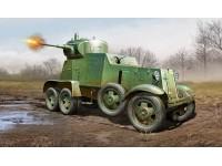 HOBBY BOSS KIT MODELLINO AUTOBLINDO PESANTE SOVIET BA-3 ARMOR CAR 1/35