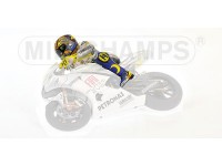 MINICHAMPS MODELLINO PILOTA ROSSI GP ESTORIL MOTOGP 2009 IN RESINA