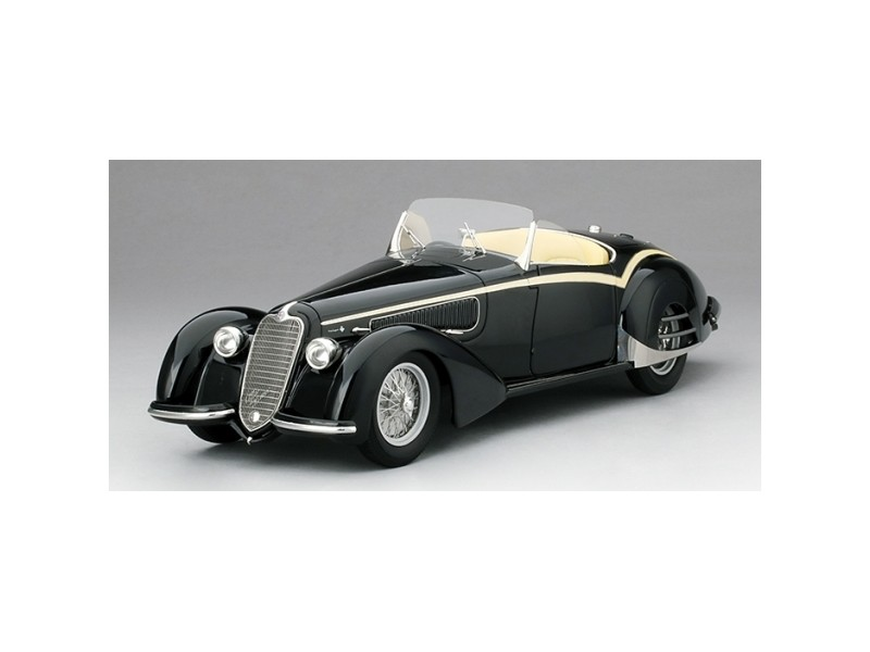 TSM MODEL MODELLINO AUTO ALFA ROMEO 1938 8C 2900B LUNGO TOURING SPIDER COLLECTION D'ELEGANCE