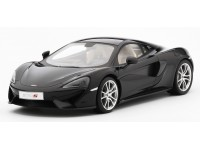 TSM MODEL MODELLINO AUTO McLAREN 570S FIRE BLACK 2015 TOP SPEED